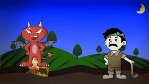 Bác nông dân và con quỷ